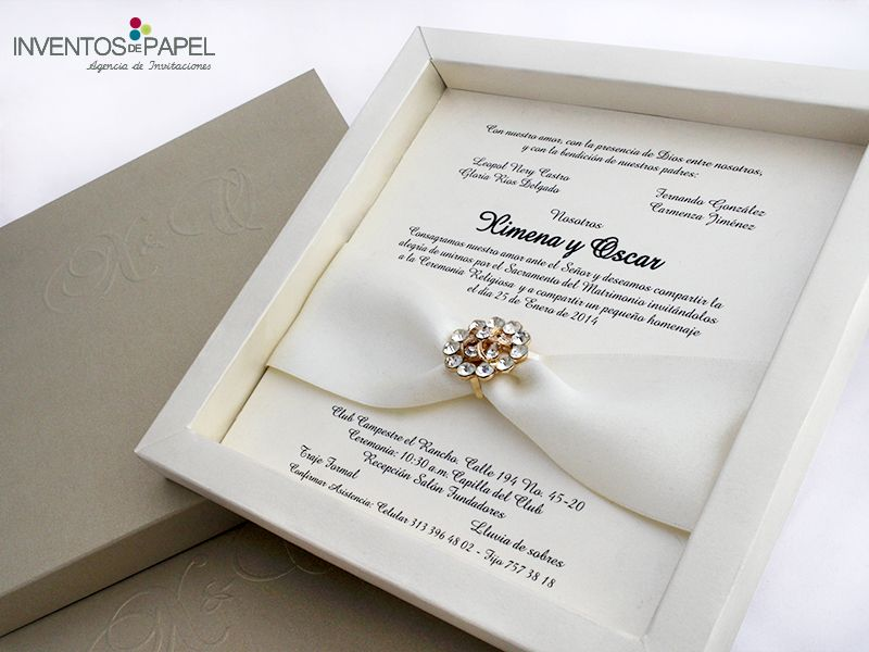 comunicando tus emociones wedding invitaciones deluxe elegante clasico boda - Invitaciones De Boda Elegantes