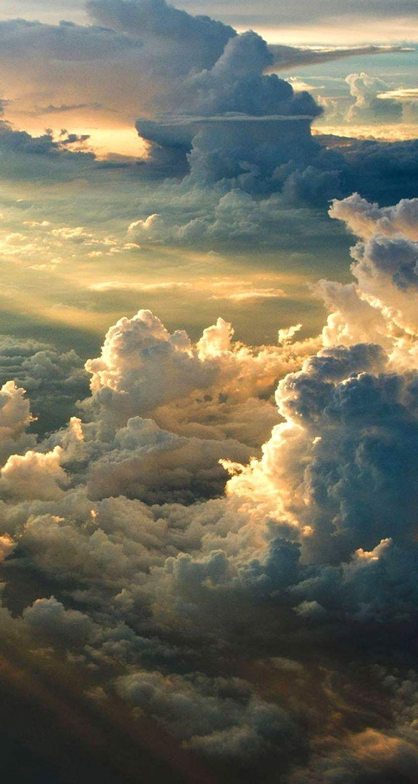 Pin By Madison Laks On IPhone Wallpapers In 2018 Clouds Sky Nature Beautiful Cloudy Sunset Wallpaper - simplechurch.us #newyearwallpaper