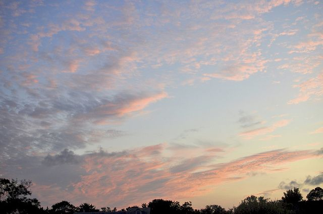 pink clouds.  love.