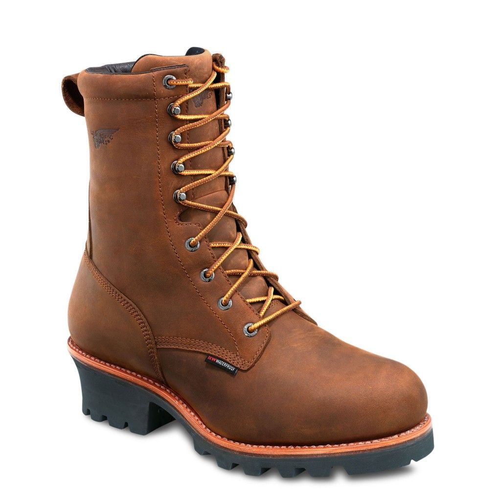 Logger boots, Boots, Red wing shoes