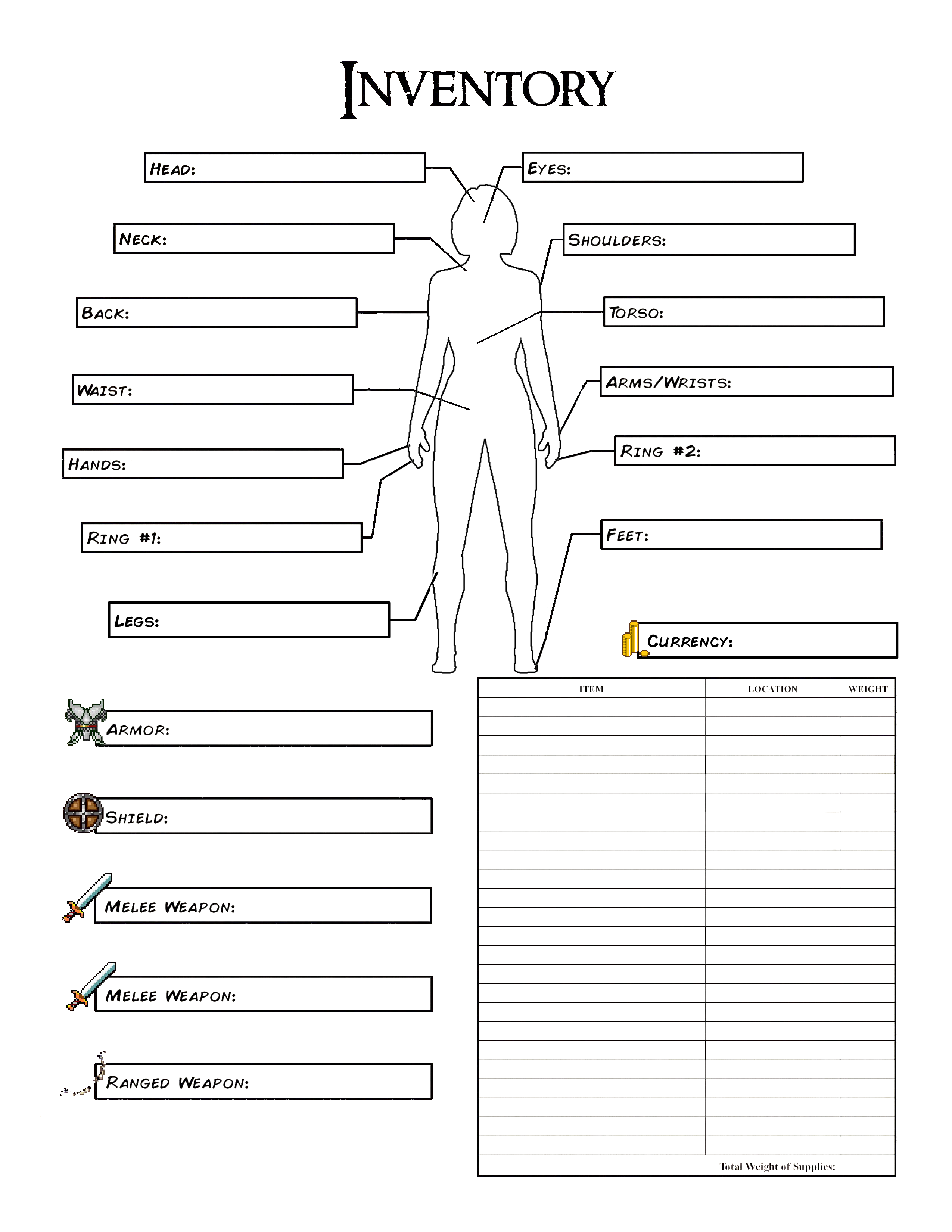 Pin By Melissa Whittle On Dungeons Dragons Dnd Character Sheet Character Sheet Rpg Character Sheet