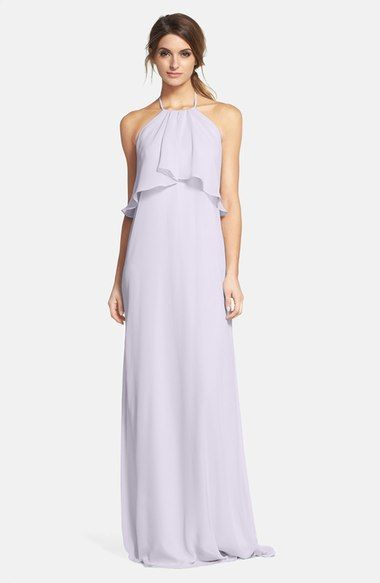 892bb0b25a5c nouvelle AMSALE 'Cait' Chiffon Halter Gown available at #Nordstrom ...