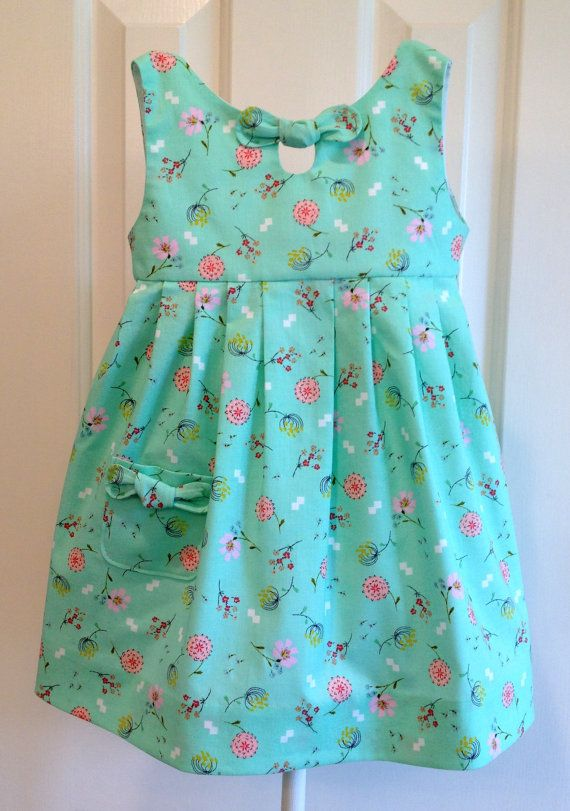 The Maddie Lou Dress, GIRLS DRESS PATTERN, PHOTO TUTORIAL, digital ...