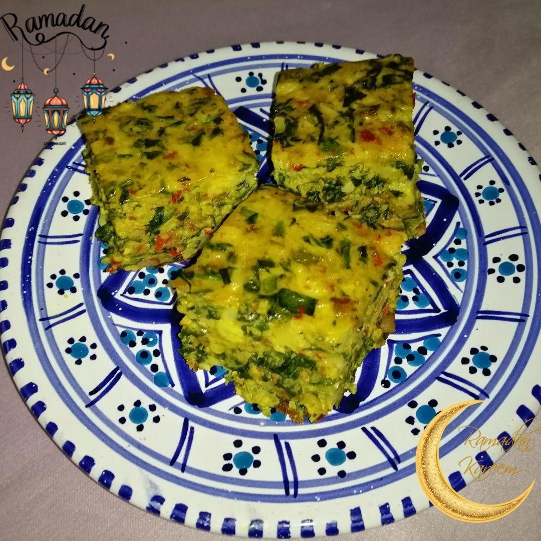 Tunisian Spinach Tajine Recipe Tajine Sebnekh وصفة سهلة لتحضير طاجين السبانخ على الطريقة التونسية Tunisian Food Tajin Recipes Recipes