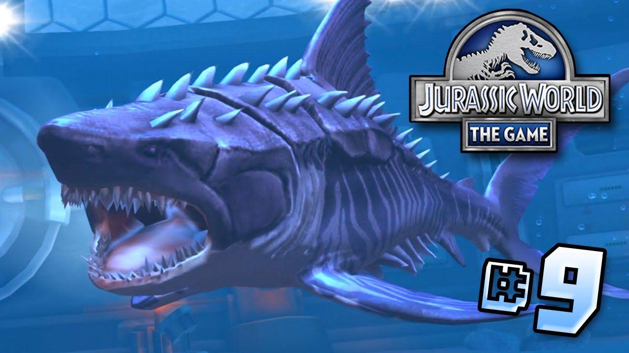 Hell's Aquarium! Megalodon MAX!! || Jurassic World – Lagoon Series