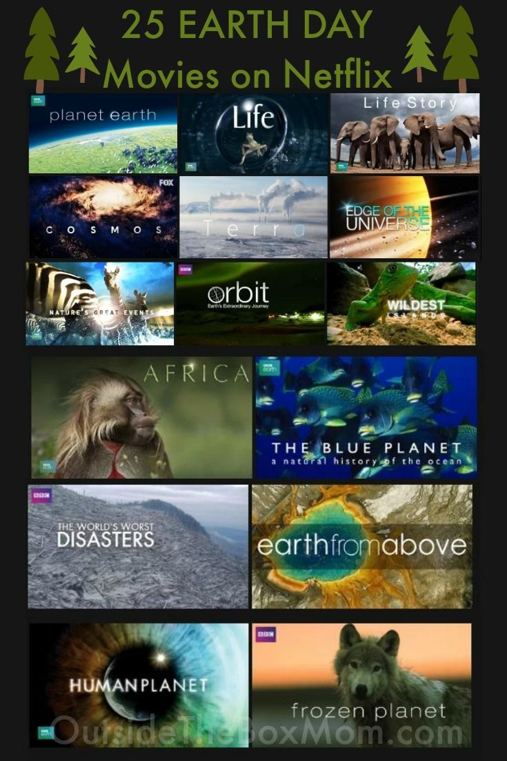 25 Earth Day Movies on Netflix | Eco-Crafting / Earth Day