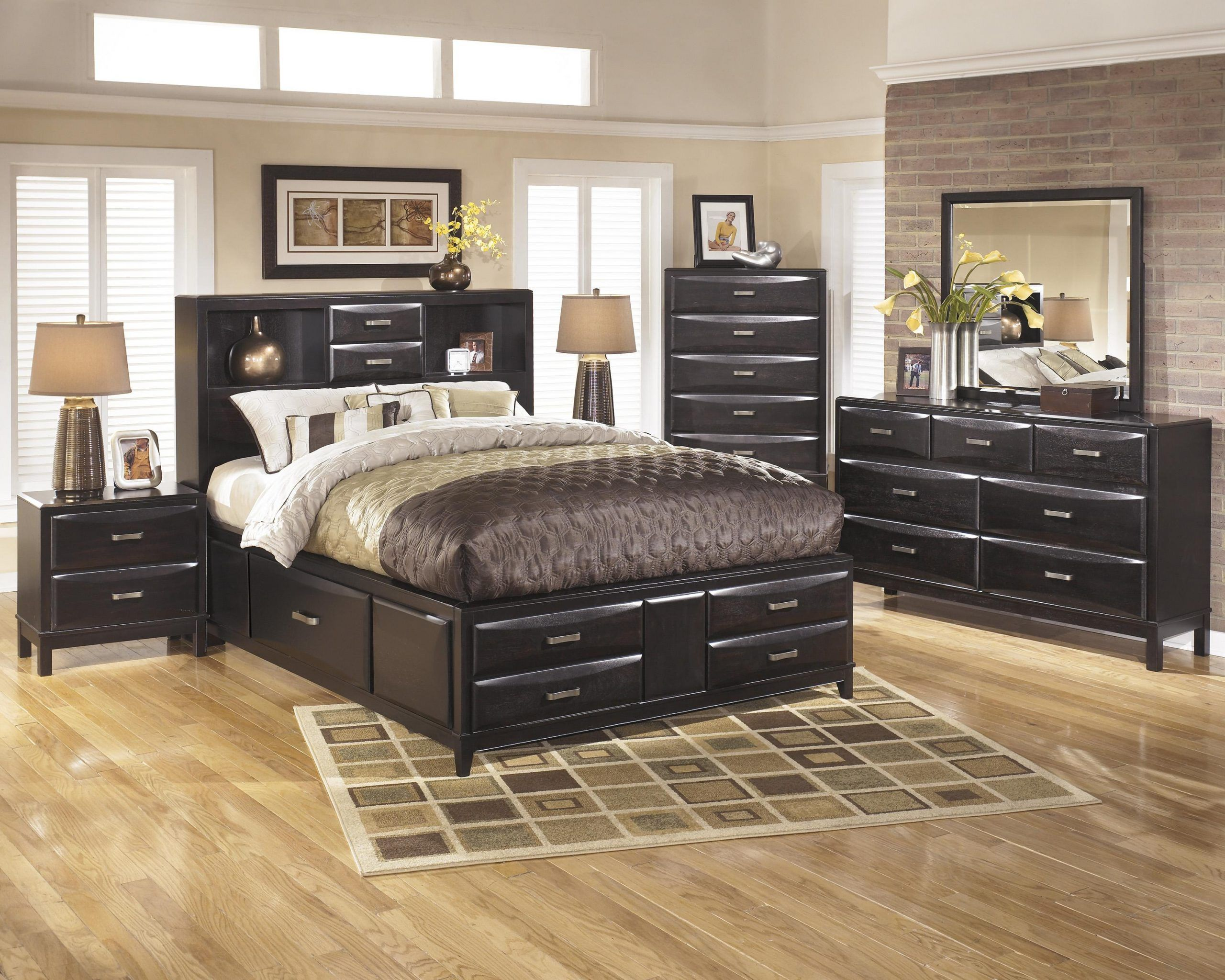 Kira King Bedroom Group with regard to Ashley Furniture
