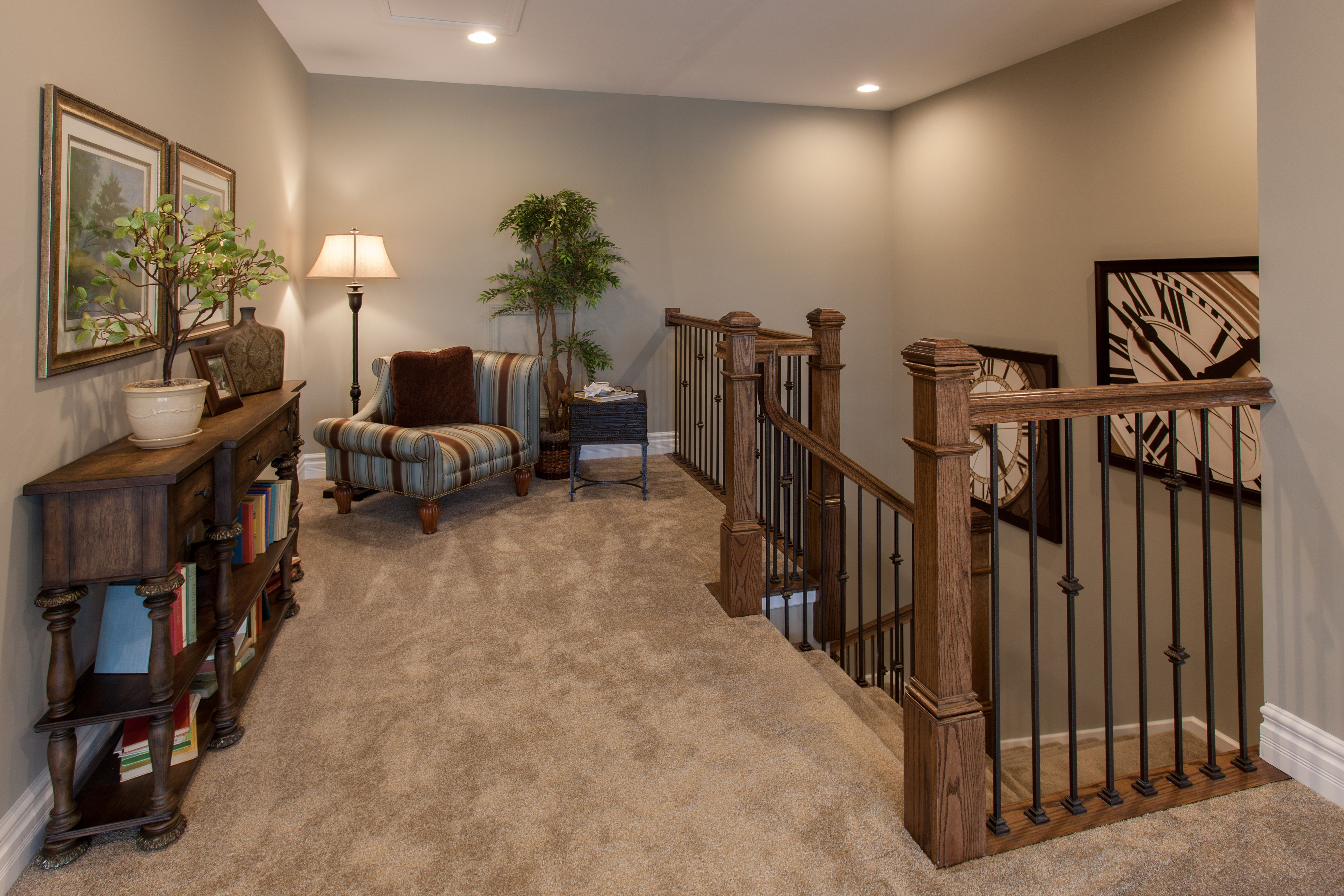 When you reach the top of the staircase on the second floor of the Arlington you are greeting by a charming sitting area.