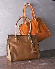 Modena Italian Leather Tote