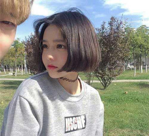 Thin Hairstyles with Great Short Haircuts | Short thin hair, Ulzzang ...