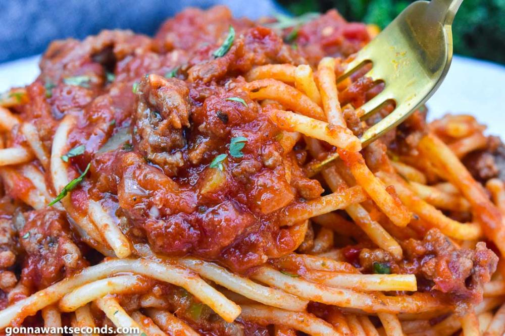 Spaghetti Recipe With Ground Beef Recipe Spaghetti Recipes Spaghetti Recipes Easy Best Spaghetti Recipe