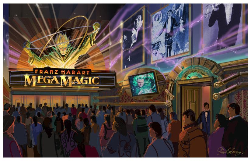 Franz Harary S House Of Magic Opening At Studio City Macau In Fall Of 2015 With Images Studio City Macau Studio City Theme Park
