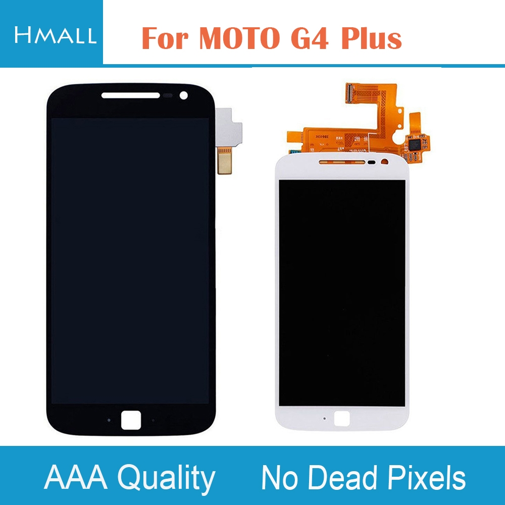 36.55$  Buy here - http://alinf2.shopchina.info/go.php?t=32805444398 - For Motorola Moto G4 Plus LCD Display Touch Screen Digitizer with Frame Assembly Replacement Black/White For MOTO G4Plus LCD 36.55$ #buychinaproducts