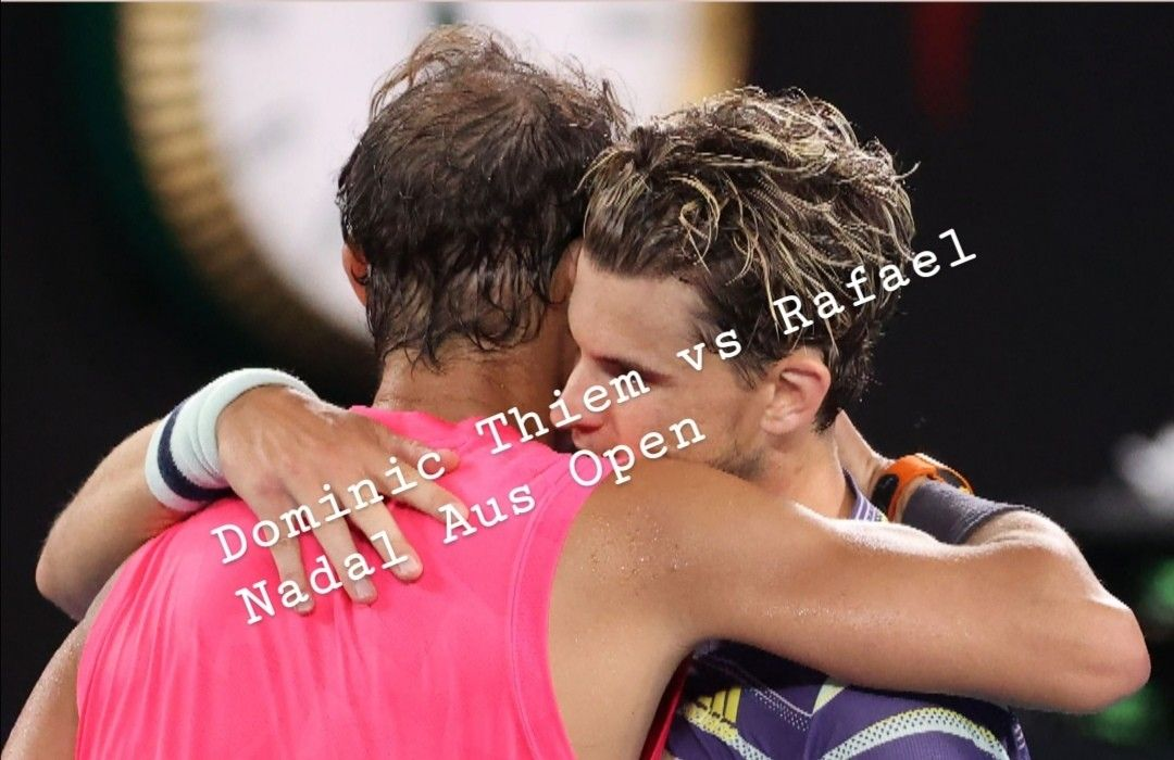 Dominic Thiem 🇦🇹 the first man on the earth to beat Rafael