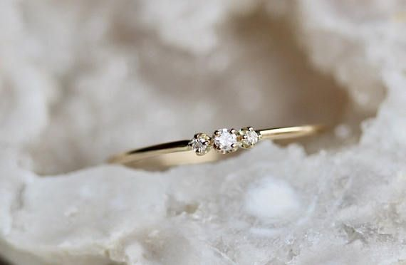 petite bague diamant