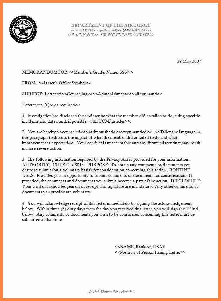 Air Force Memorandum Template Inspirational 10 Air Force Letterhead Template Memorandum Template Memorandum Letterhead Template