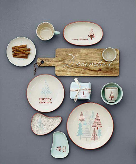 Christmas Inspiration Teller Merry Christmas Budget Christmas Dinnerware Winter Trends Calculus Natal Ceramic Art & Pin by SOTY design on ?????? | Pinterest