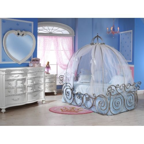 disney princess carriage bed (frame and fabric sold separately ... - Letto Carrozza Disney
