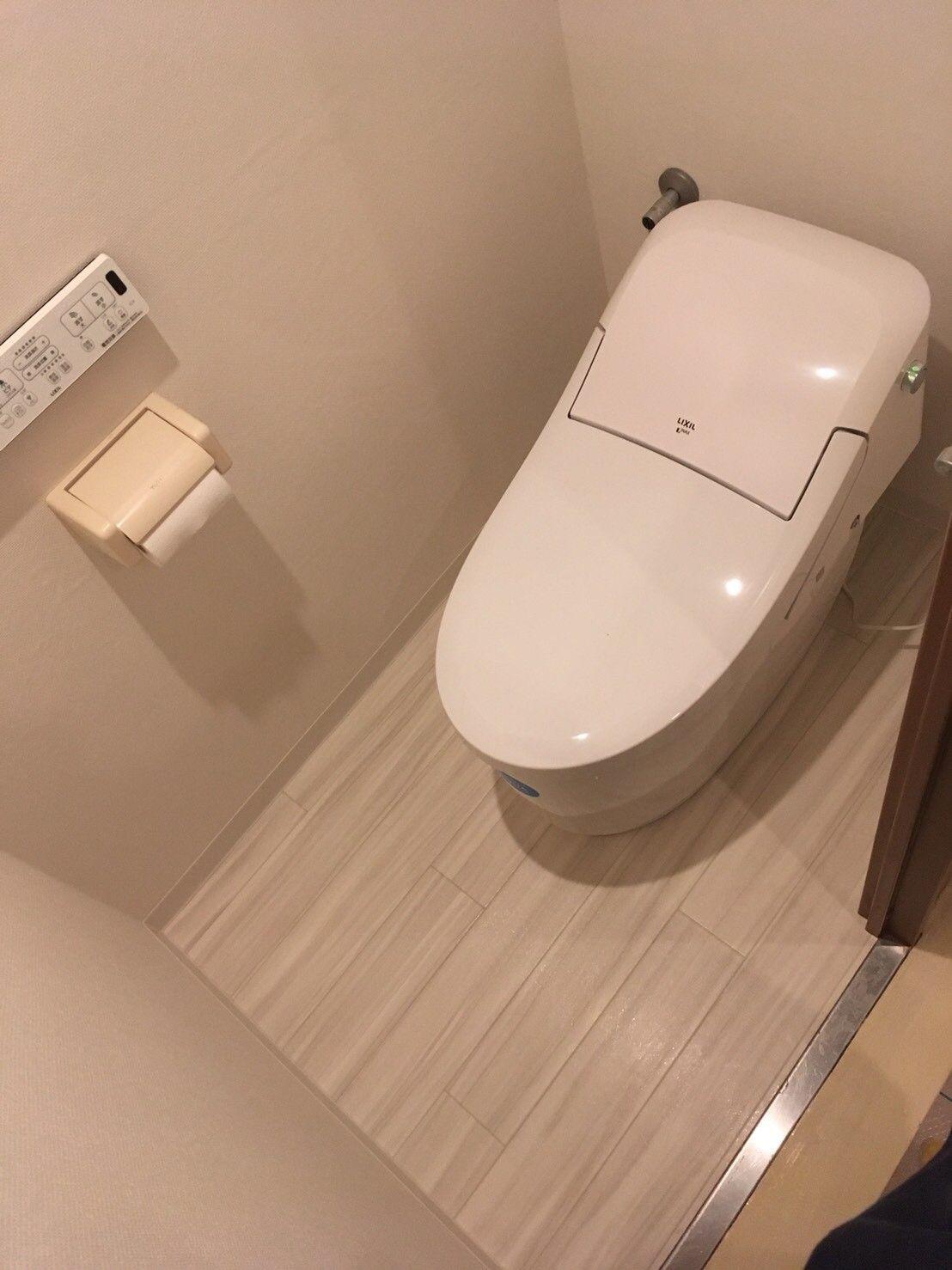 トイレ交換 Lixil プレアスlsタイプ Lixil トイレ トイレ リフォーム