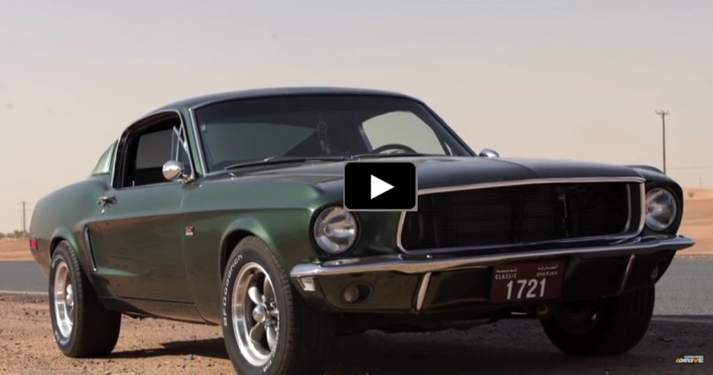 Incredible Ford Mustang Bullitt Replica In Dubai With Images Mustang Fastback