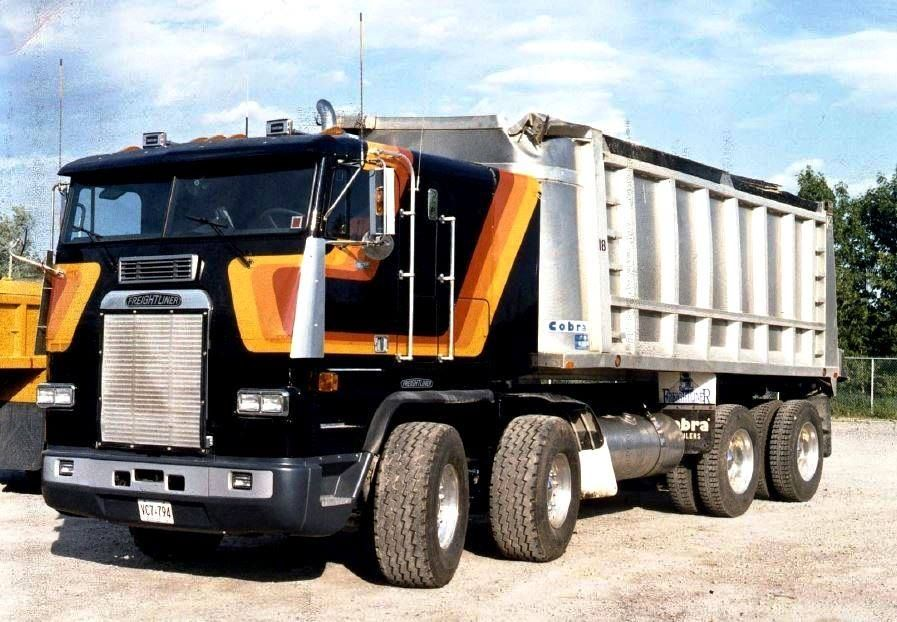 Tri Axle Cabover : In the freightliner twin steer fla coe was designed