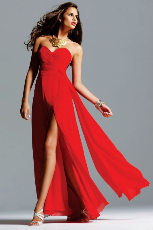 Prom Dresses Red Shoes