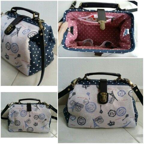 192a648009 Paris Doctor Frame Bag | frame bag | Bags, Diy bags, Frame bag