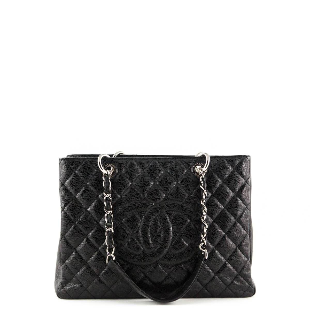 e627f6f531c3 Chanel Black Caviar GST SHW - LOVE that BAG - Preowned Authentic Designer  Handbags -  3200