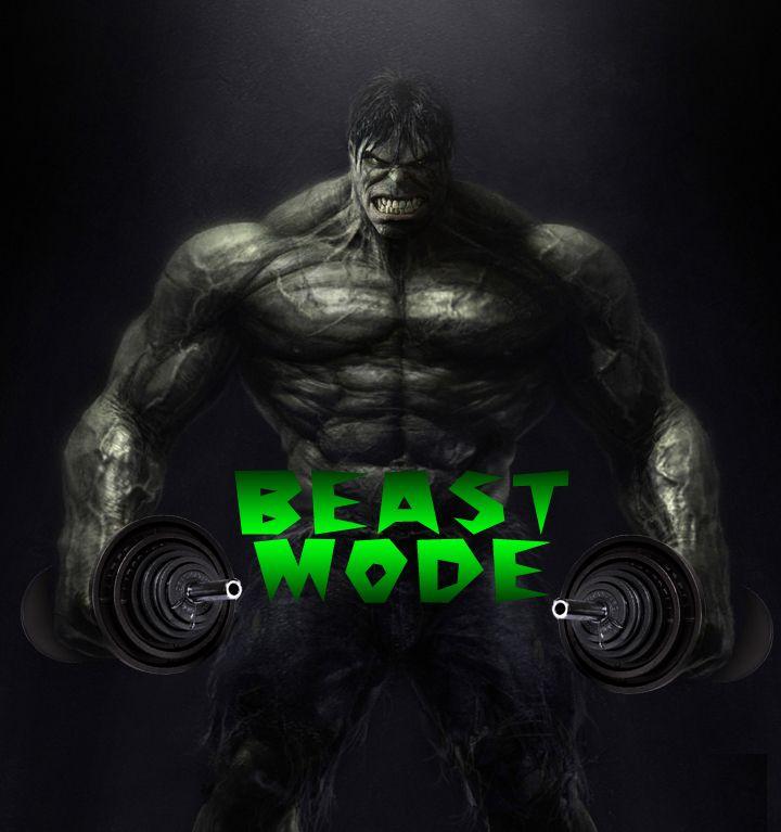 Beast Mode! | Crossfit sentences | Culturismo, Gym