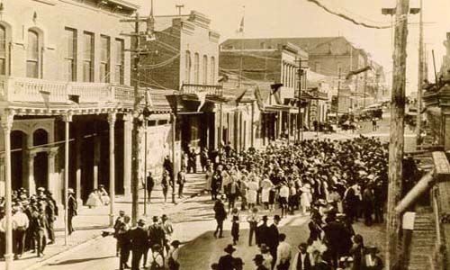Virginia City History A good example of the rise and fall of
