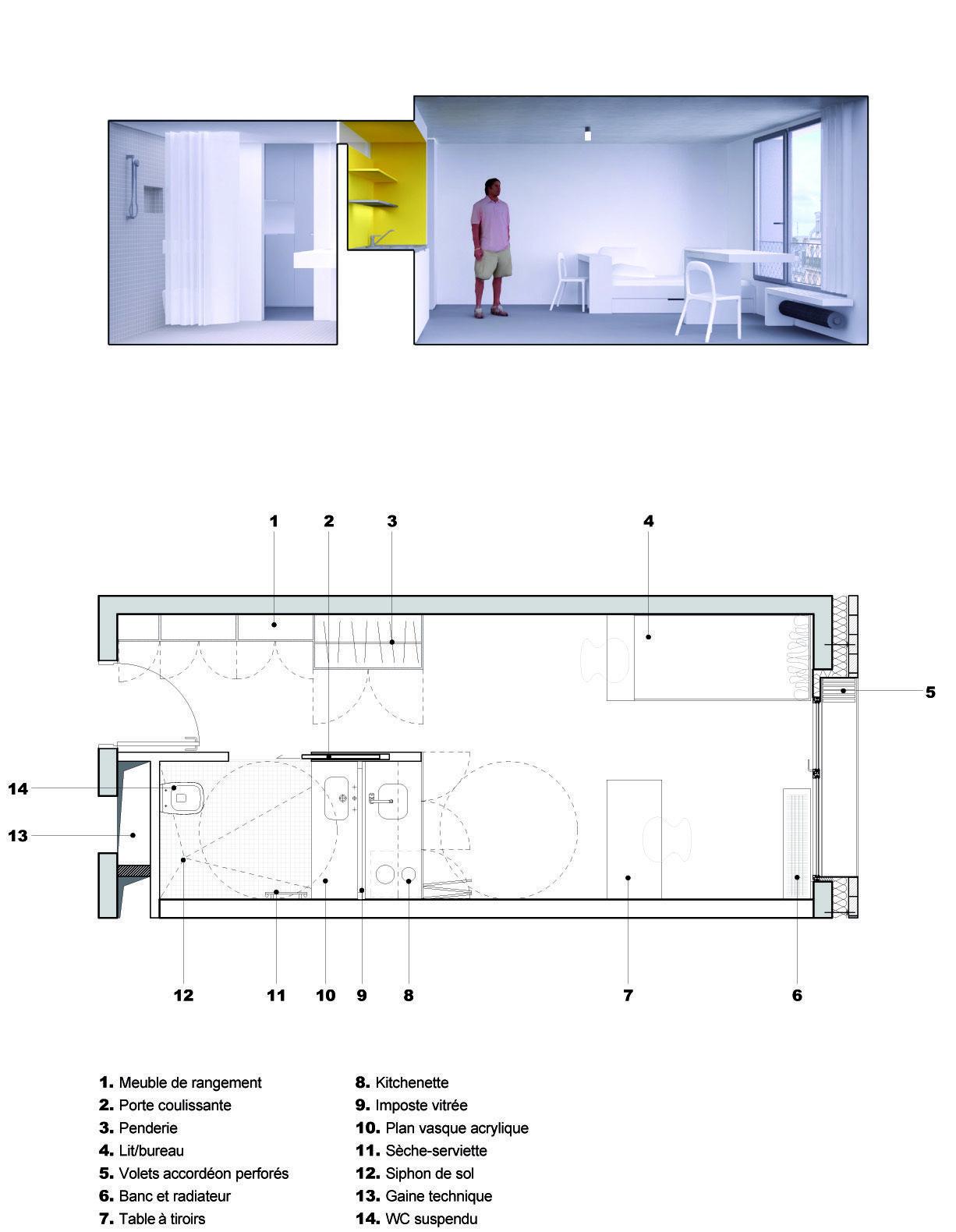 Day-Care And Young Workers Hostel / Chartier Dalix Architectes + Avenier Cornejo Architectes