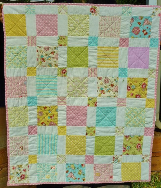 Use this pattern for Glamping picnic blanket. Method: Disappearing ... : charm squares quilt - Adamdwight.com