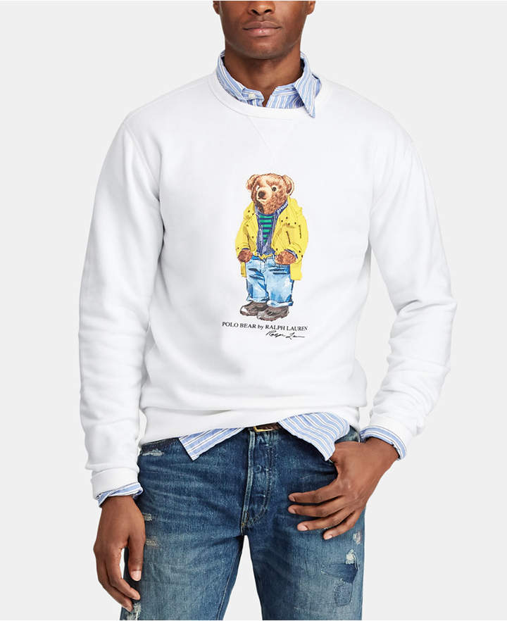 ba981451ef Polo Ralph Lauren Men s Polo Bear Fleece Sweatshirt