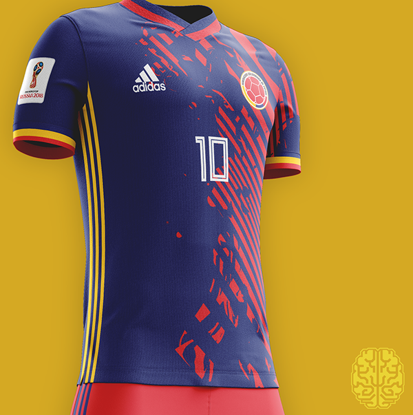 Fifa World Cup 2018 Kits Redesigned On Behance Sport Shirt Design Sports Jersey Design Sports Tshirt Designs