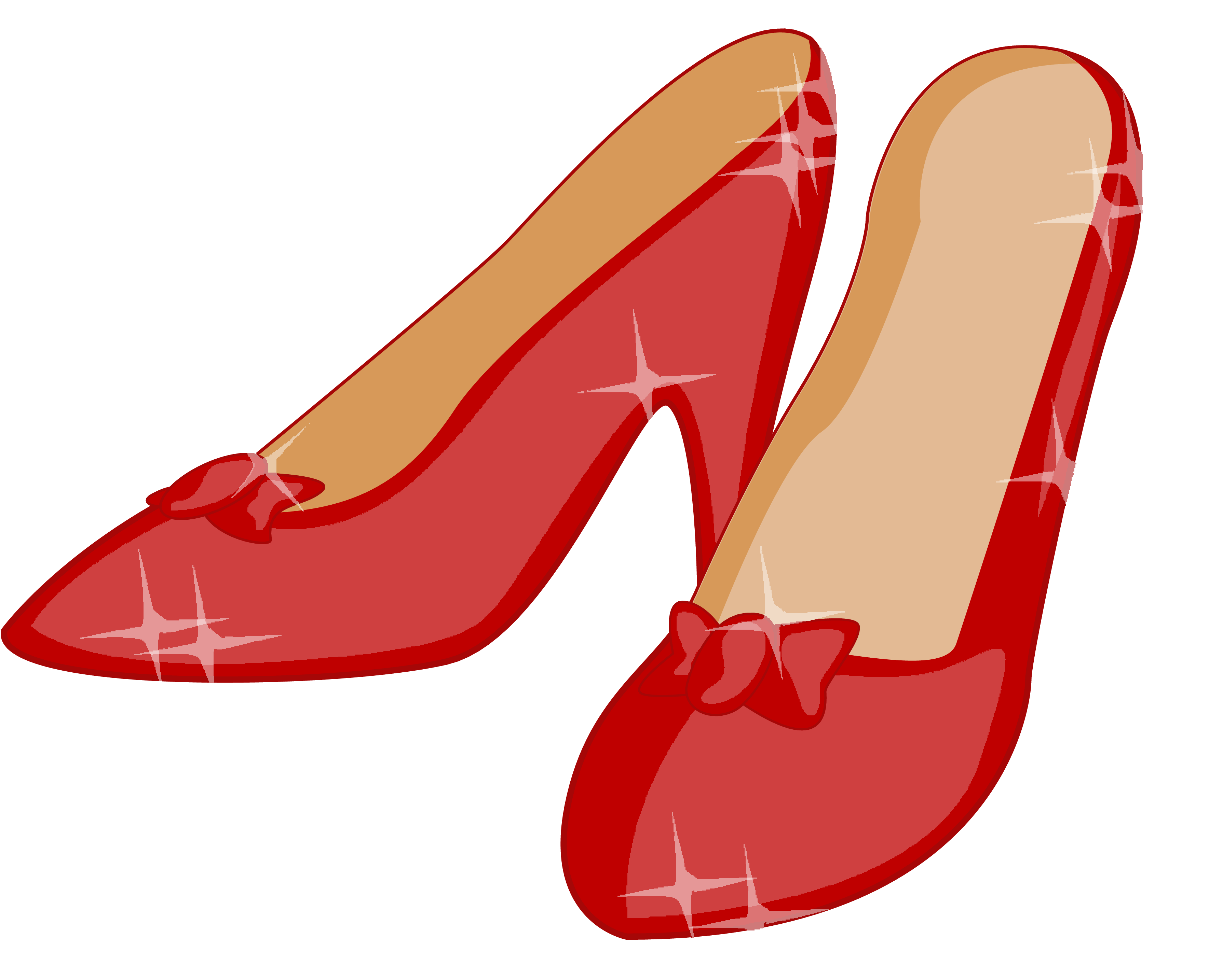 ruby slipper graphic   House pic project   Shoe clips ...