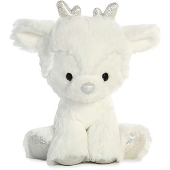 Can You Wash Stuffed Animals That Say Surface Wash Only Sterling Silver The Glitzy Tot Plush Reindeer Aurora Cute Stuffed Animals Animals Cute Plush