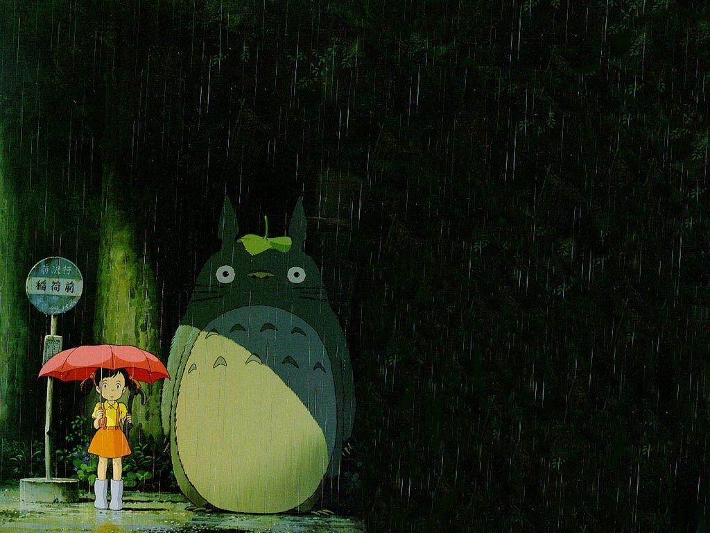 Totoro Bus Stop My Neighbor Totoro Totoro Hayao Miyazaki Art