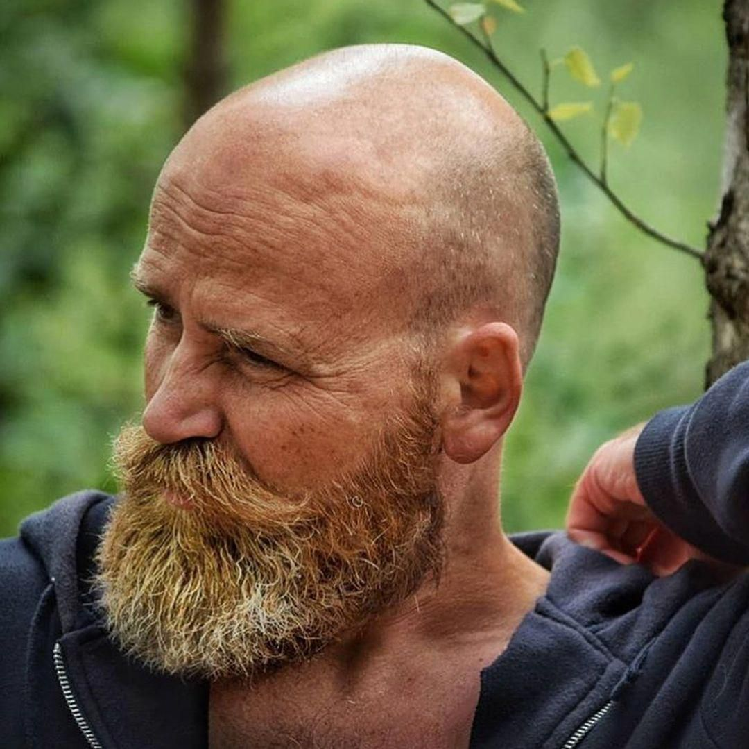Und männer mit glatze bart 35 besten