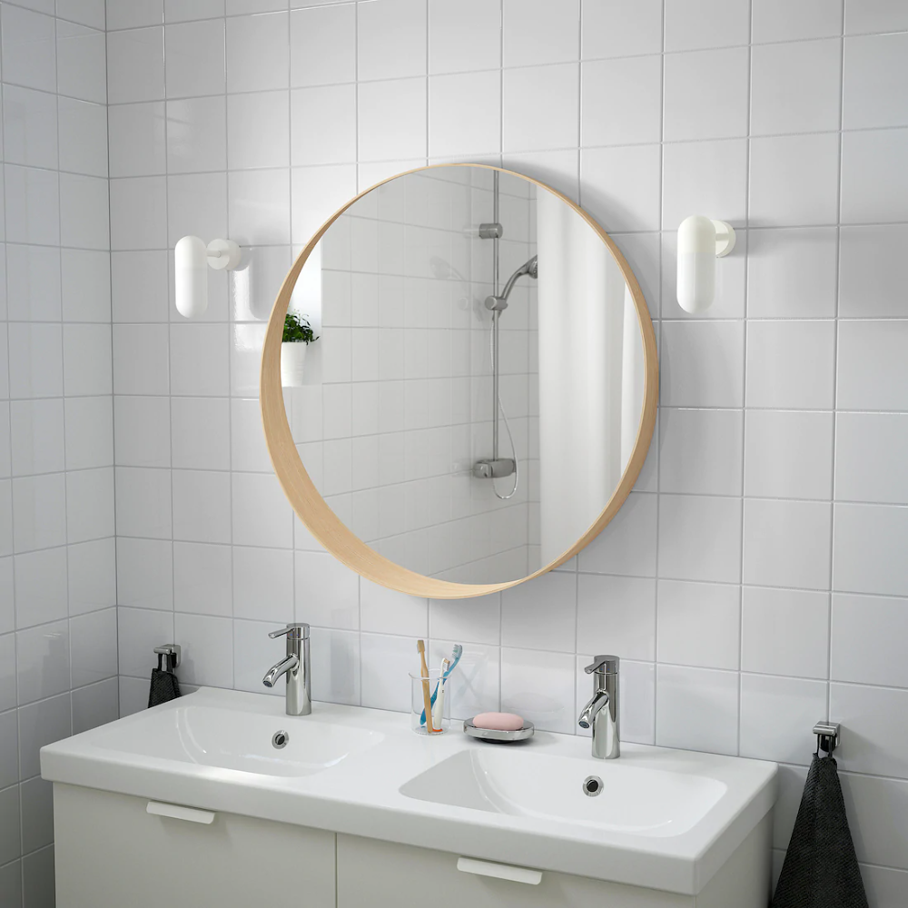 "Mobile Da Bagno Ikea stockholm mirror - ash veneer 31 1/2 "" in 2020   mirror"