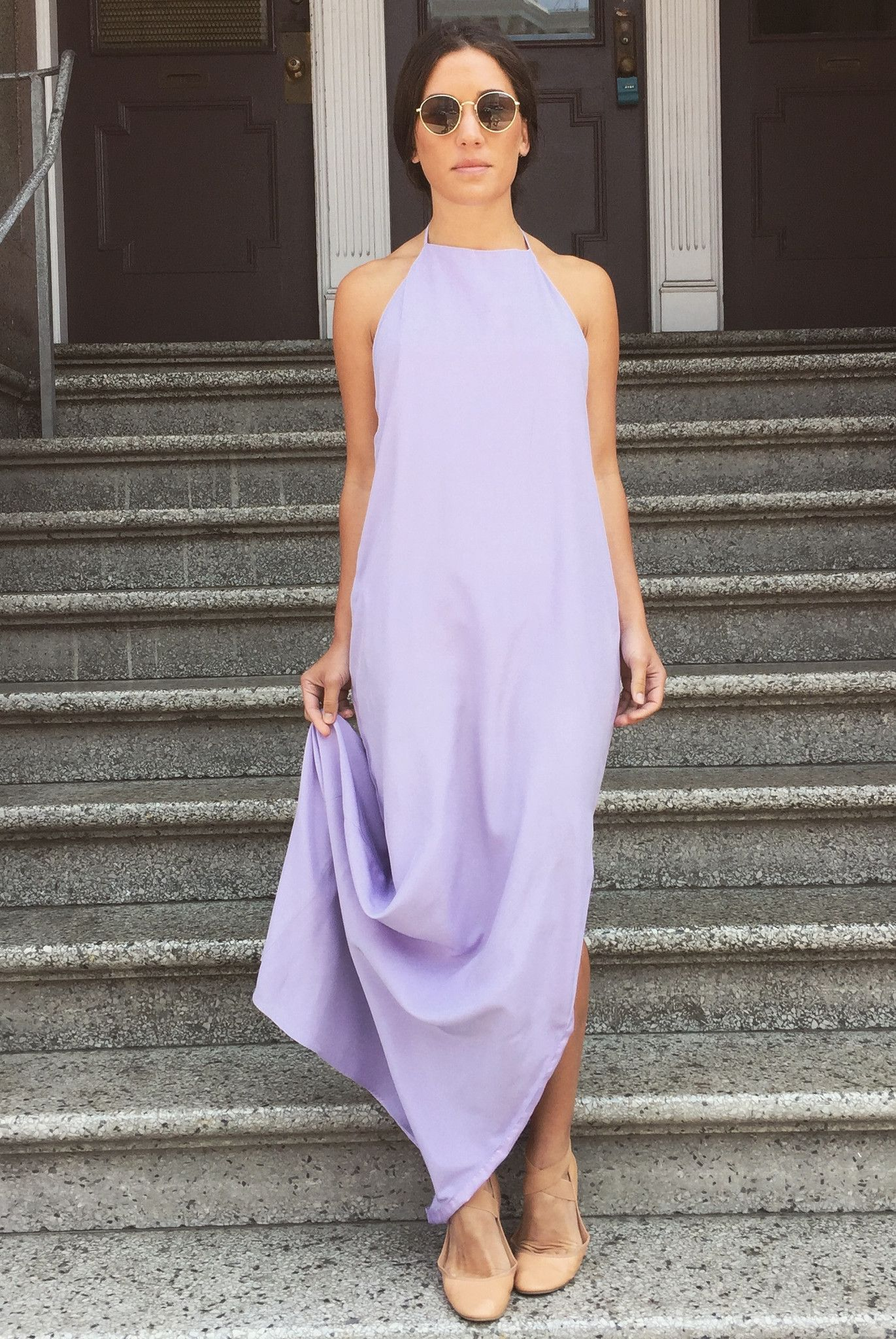 The backless slip gown minimalist wardrobe gowns and neckline