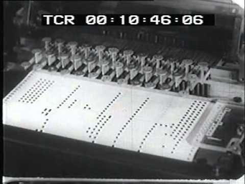 1950 early electronic synthesizer
