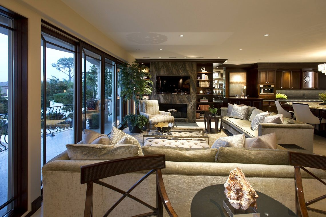 Living Room Luxury Designs La Jolla Luxury Family Room Robeson Design Living Room