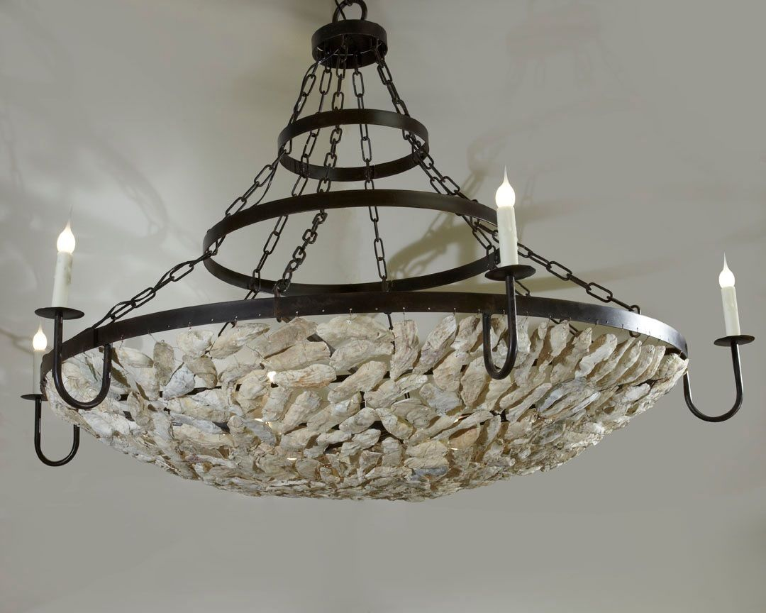 The Savannah Lighting With Chain And Bands Lowcountry