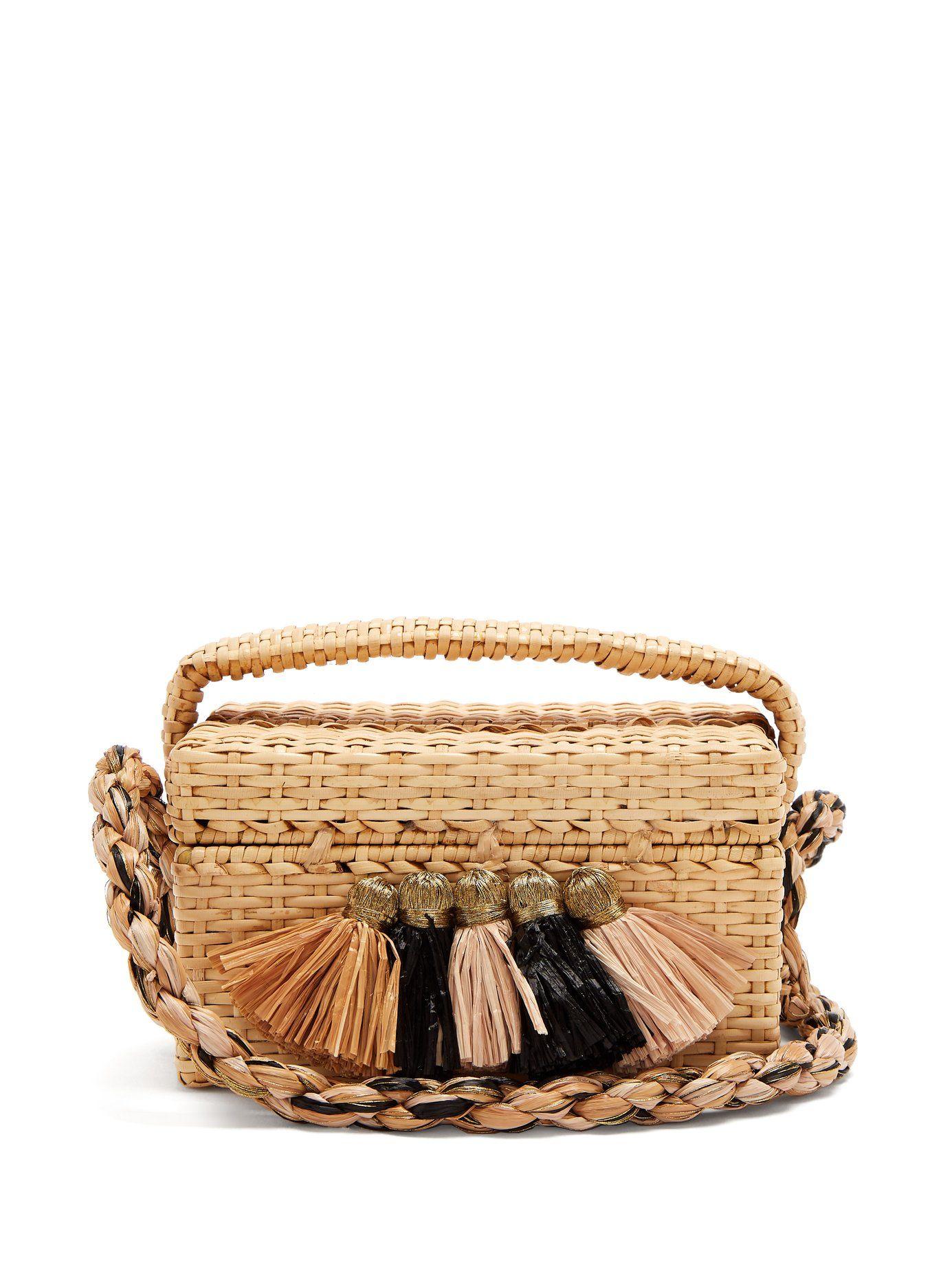 Bag Tassel Straw Trimmed Sanayi 313 Matchesfashion Carolsello wZtnBPq4ZO