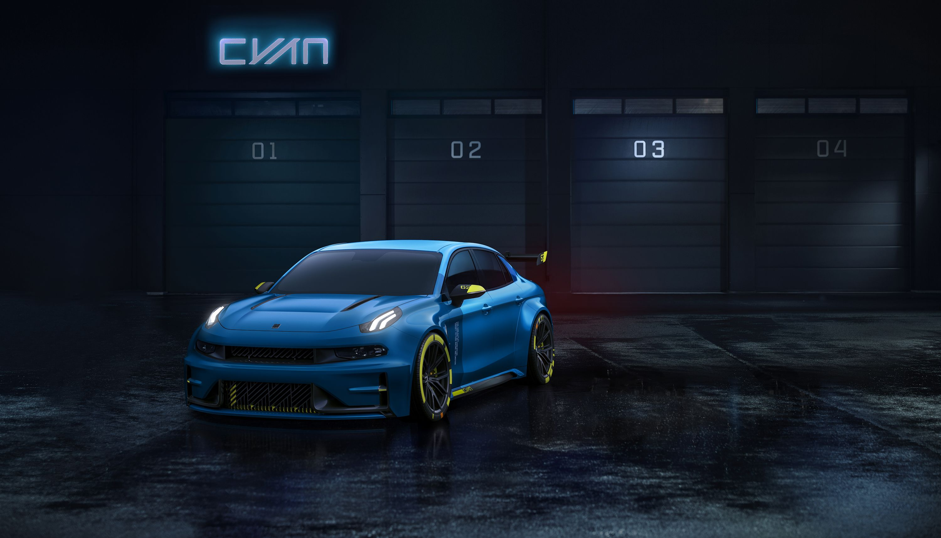 2018 Lynk Co 03 Tcr Road Car Concept By Cyan Racing Car Wallpapers Car Hd Wallpaper