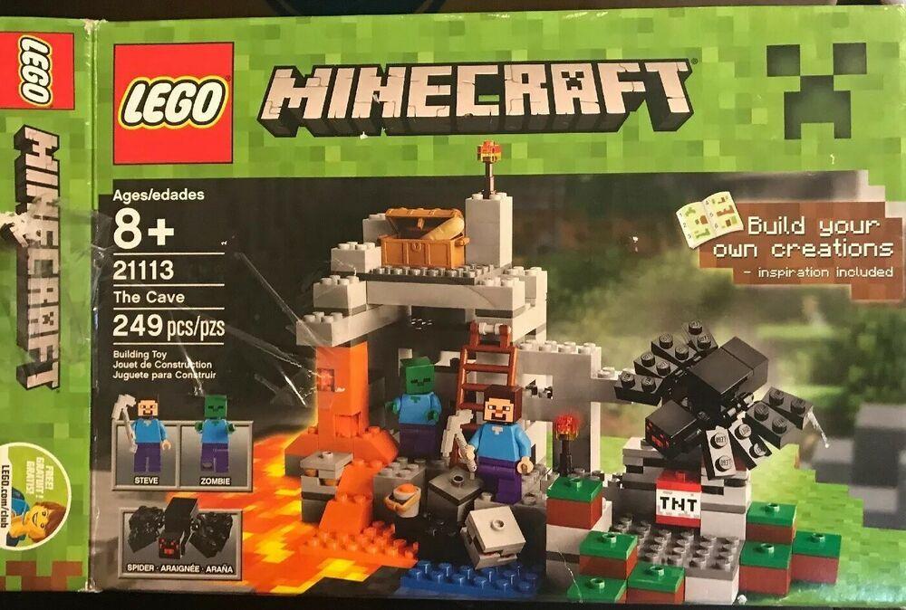 The Cave Minecraft Creative Sets Big Lego Classic Supplement R54jLq3A