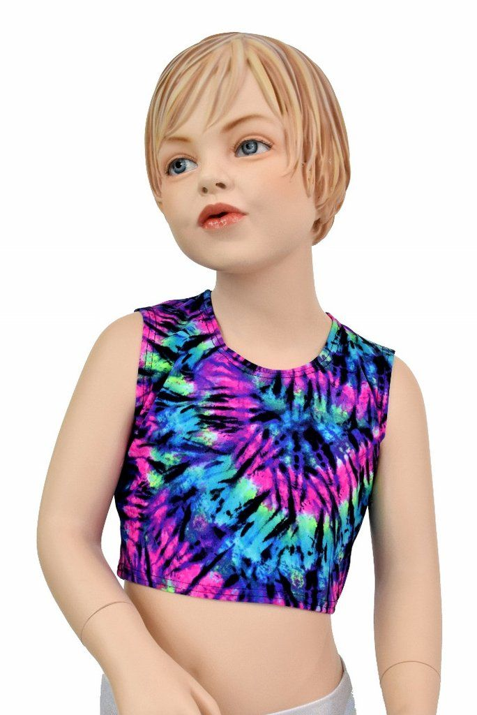 0a950804e3a7ed Girls Sleeveless Tie Dye Top (TOP ONLY) – Coquetry Clothing