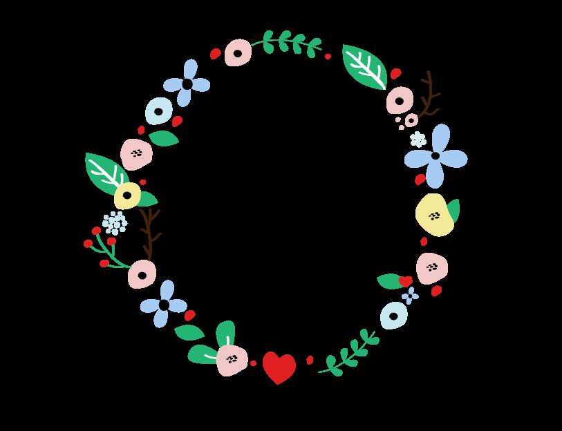 couronne de fleur dessin recherche google