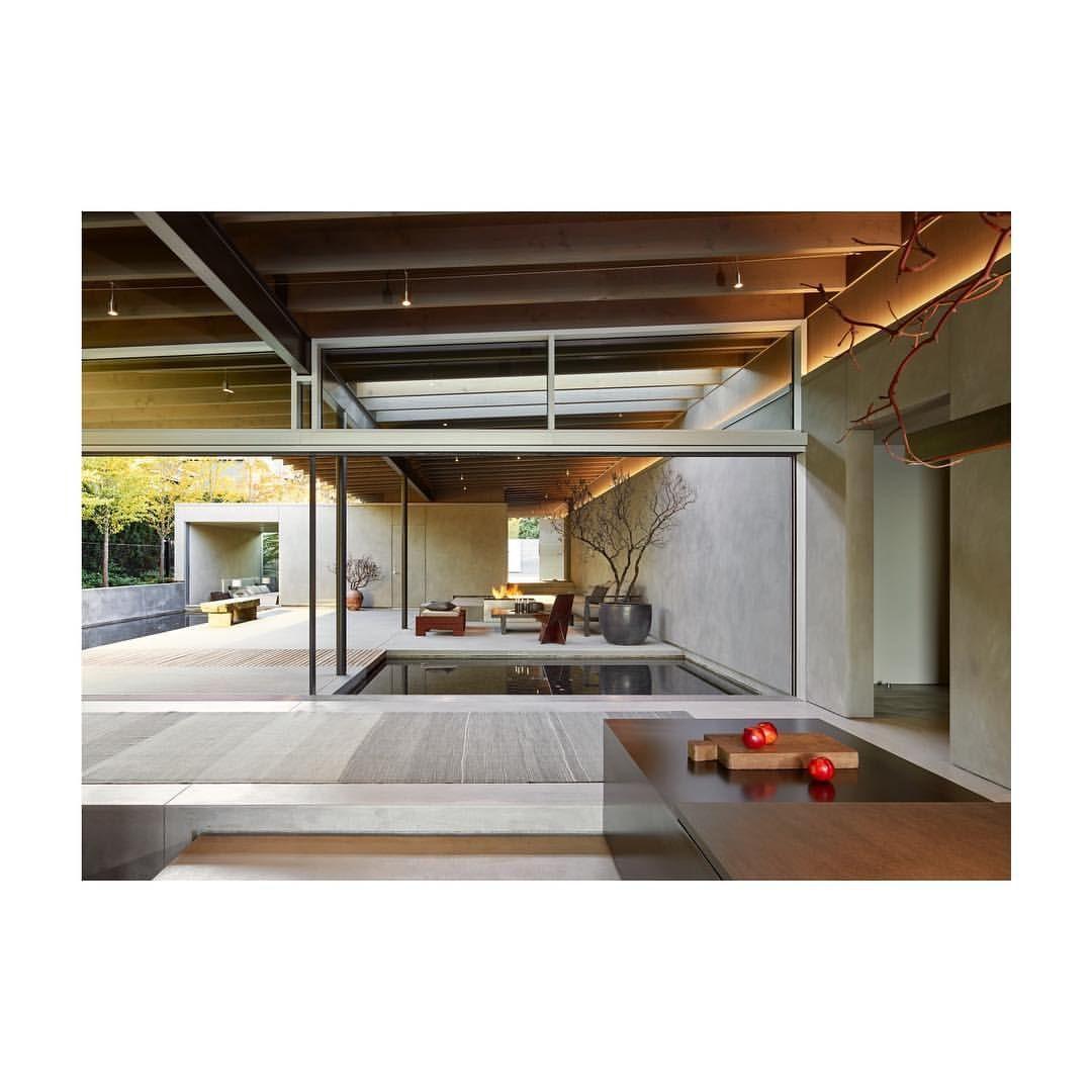 Montana Ranch House By Suyama Peterson Deguchi: Pin En Casa Lago / Suyama