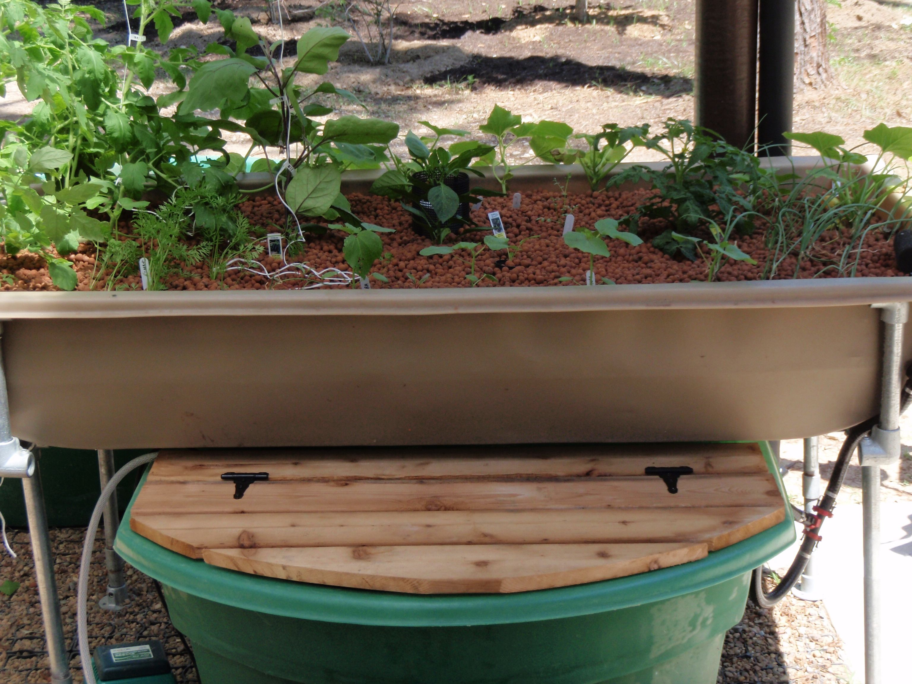 Greenlife Aquaponics Patio Garden Kit | Aquaponics Patio Garden Kit ...